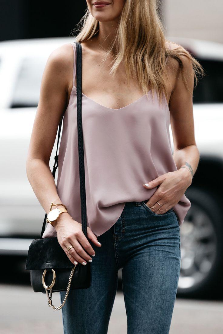 Fashion Jackson, Dallas Blogger, Fashion Blogger, Street Style, Topshop Blush Cami,