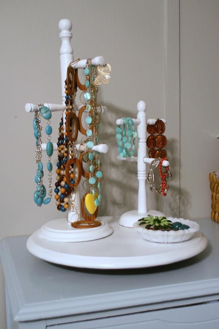 DIY: mug holder turned jewelry holder