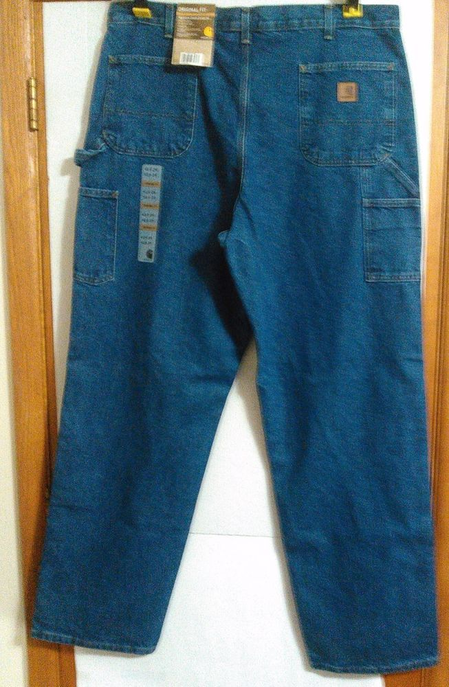 New With Tags Carhartt Lose/Original Fit Carpenter Work Jeans  #Carhartt #OriginalFitCarpenterStyle