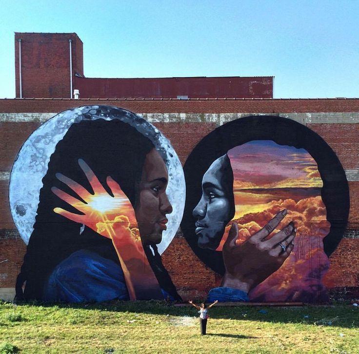Quot The Reflective Black Body Quot Street Art By Lenny Correa