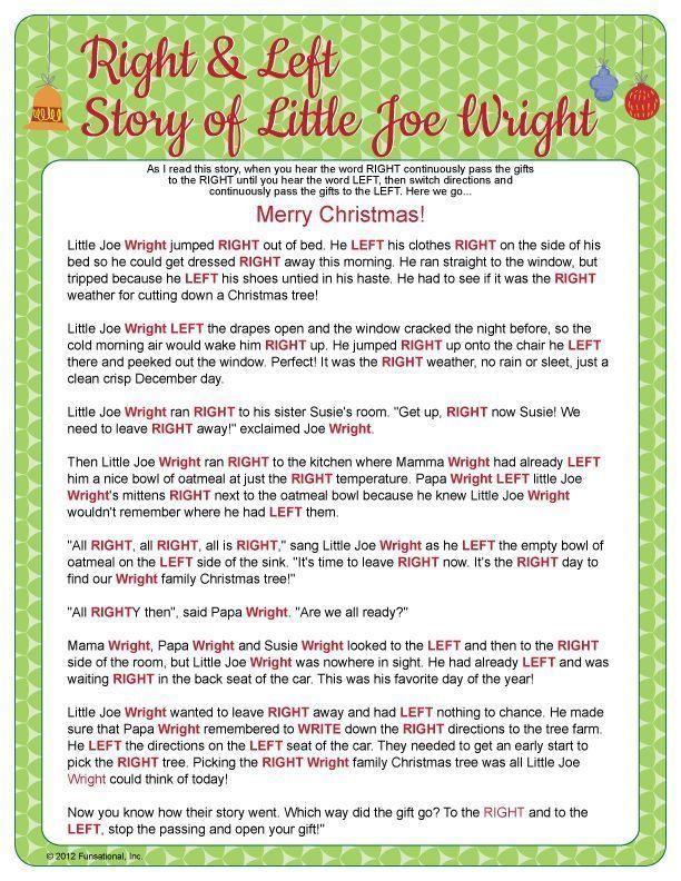 Přes 1000 nápadů na téma Left Right Christmas Game na Pinterestu