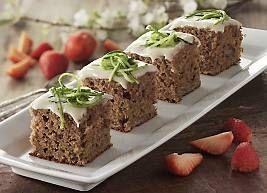 Squashkage er en sund kage f.eks. til klassens time