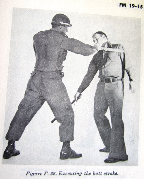 "Army ""Civil Disturbances"" training manual from 1975"