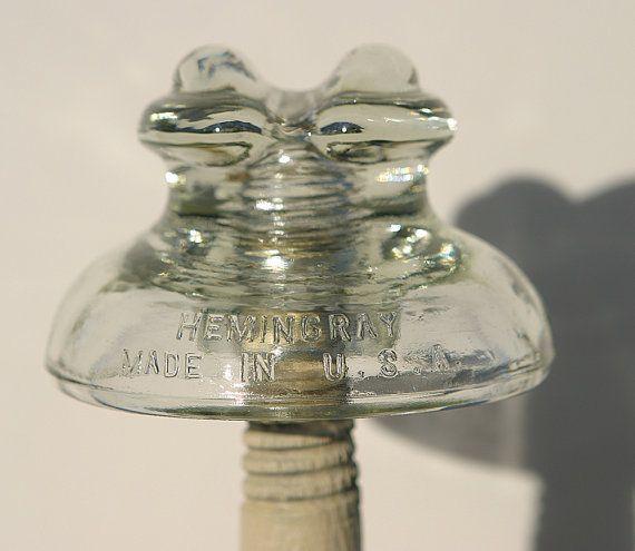 49 best insulators images on pinterest glass insulators for Glass conductors