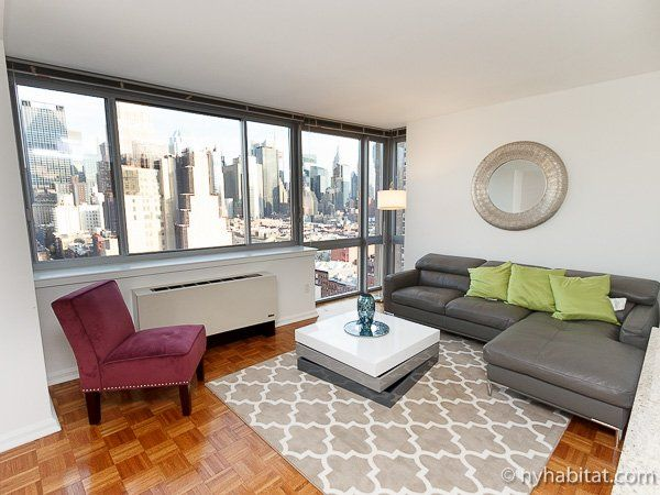 New York Apartment: 2 Bedroom Apartment Rental In Midtown West