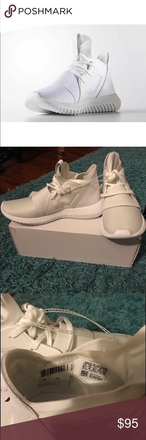 adidas tubular defiant chalk white paint