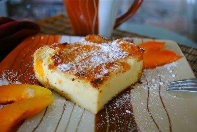 Как приготовить французская манная запеканка с абрикосами. - рецепт, ингридиенты и фотографии