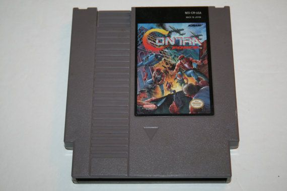Contra Force Authentic Nintendo NES cartridge by TheGeekitarium