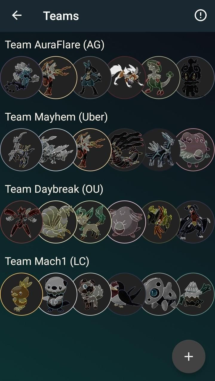 Team Builder on Goldex!!! One of the best Pokédex apps out there!!!