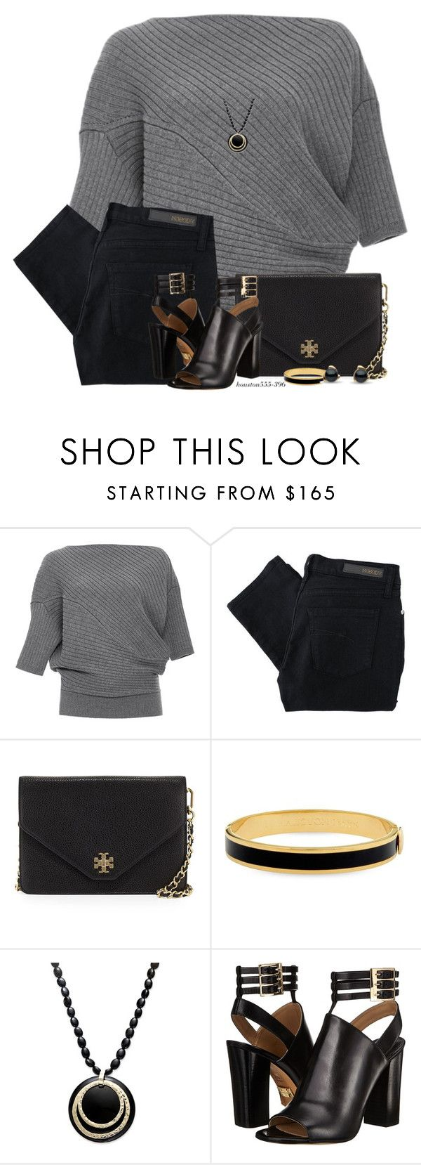 """""""Tuesday Morning"""" by houston555-396 ❤ liked on Polyvore featuring J.W. Anderson, Nobody Denim, Tory Burch, Halcyon Days and Michael Kors"""