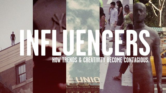 What influences you?    INFLUENCERS FULL VERSION by R+I creative. INFLUENCERS is a short documentary that explores what it means to be an influencer and how trends and creativity become contagious today in music, fashion and entertainment.