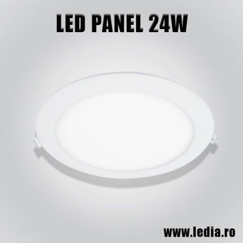 Panou LED panel led 24w eco rotund d300mm