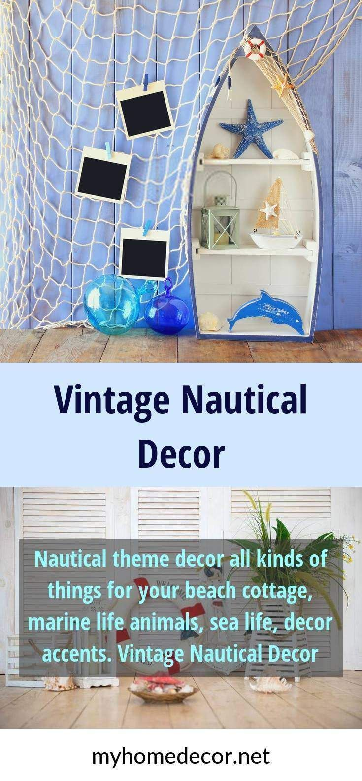Nautical Theme Decor All Kinds Of Things For Your Beach Cottage