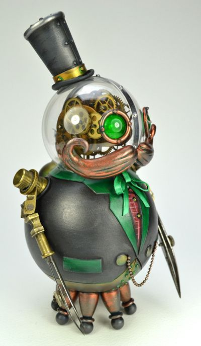 New steampunk creature by Doktor A.