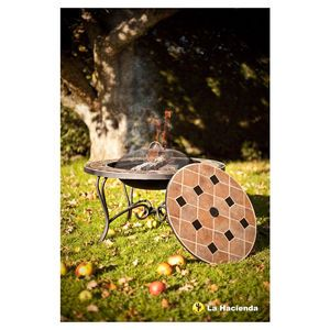 Pompei Fire Pit Table With Lid