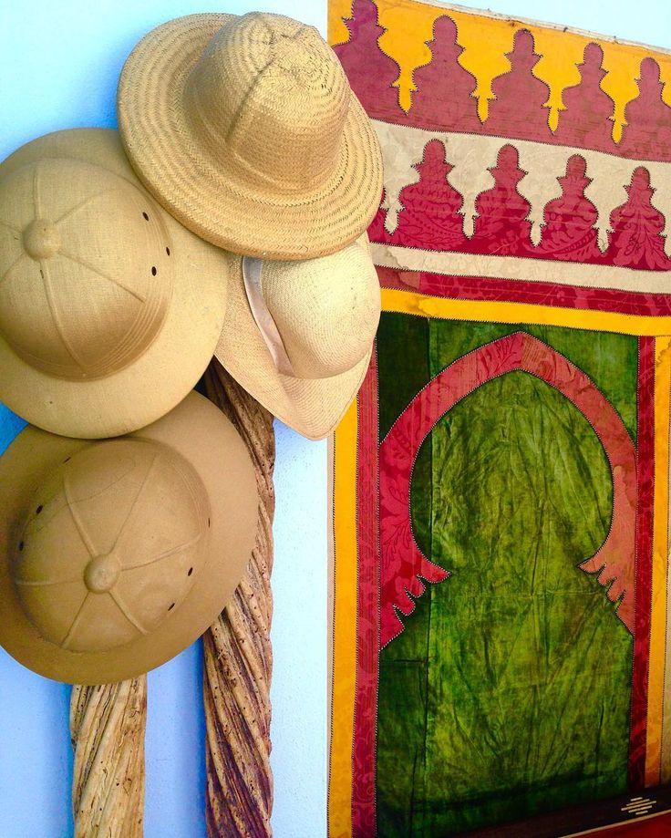 #spain #españa #andalucia #marbella #sanpedro #sanpedrodealcantara #sombreros #safari #design #decor #decoration #colorful #color #colors#guadalmina