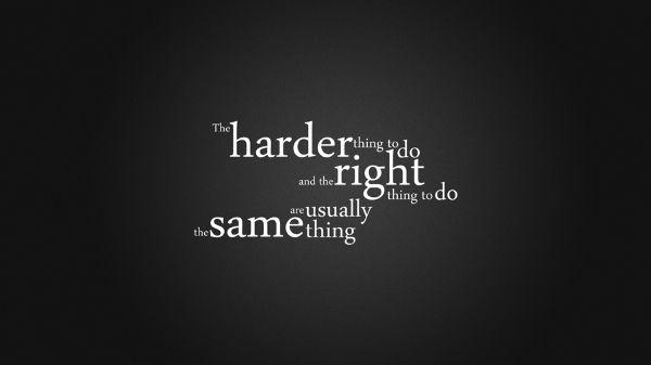 Hard. Right.