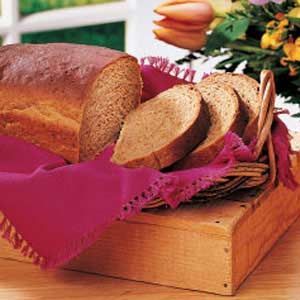 i really like this recipe from the taste of home book, this is the bread that my family likes to gobble all up Homemade brown bread