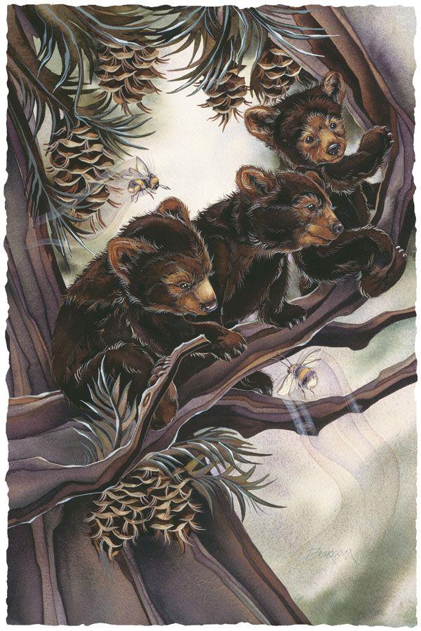 422 Best Jody Bergsma Art Images On Pinterest Black Bear