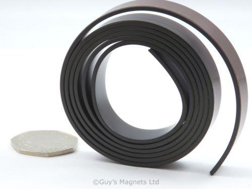 "1 Metre 1 2"" 12 7mm Wide Flexible Self Adhesive Magnetic Strip Craft Fridge | eBay"