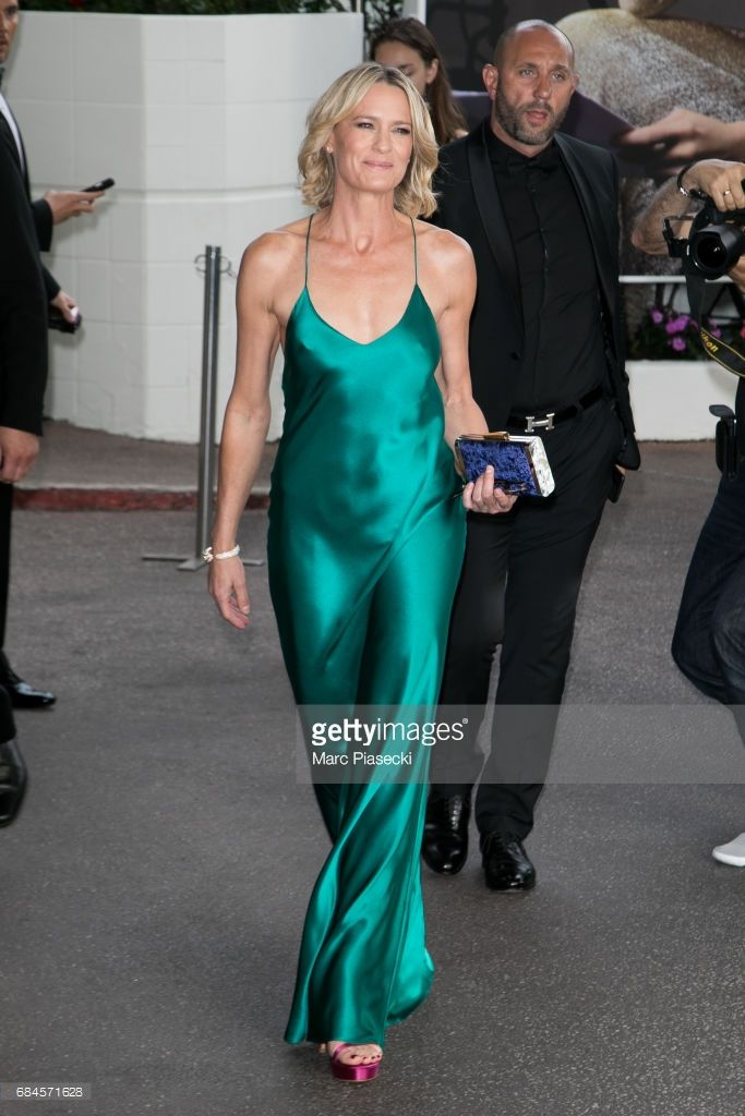 3b61b8eb6168f Actress Robin Wright is spotted during the 70th annual Cannes Film Festival  at on May 18