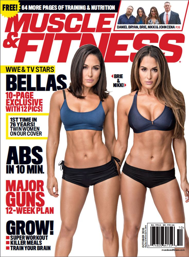 Nikki and Brie Bella Cover Muscle & Fitness, Tease New E! Series Total Bellas: ''Fans Will Get to See the Ups and Downs'' on | E! Online Mobile
