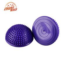 Yoga Half Ball Fitness Equipment Kids Elder Durian  Massage Mat Exercise Balance Point Gym Yoga Pilates Ball //Price: $US $8.31 & FREE Shipping //