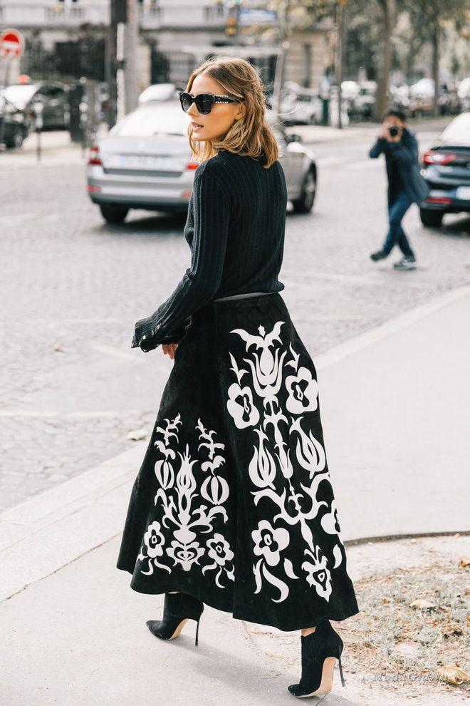 Уличная мода: Уличный стиль недели моды в Париже весна-лето 2018: модные образы