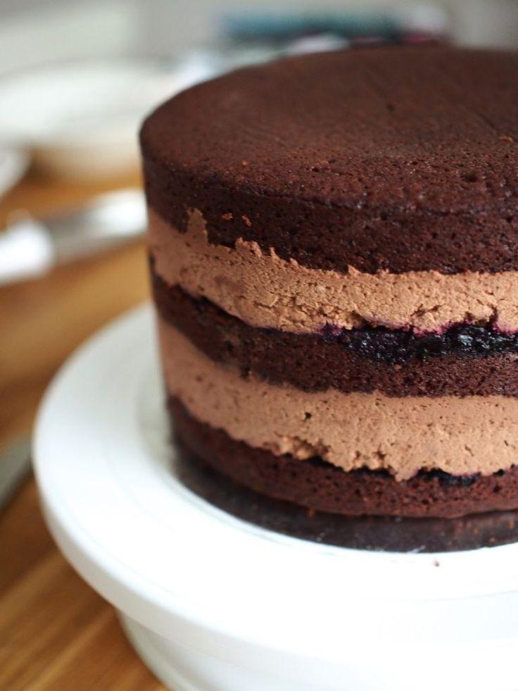 Täydellinen Suklaamousse (liivatteeton)