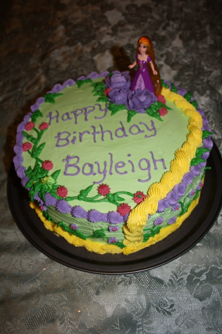 Birthday Cake Image For Josie : Tangled Cake Cake Ideas Pinterest Cakes, Tangled and ...
