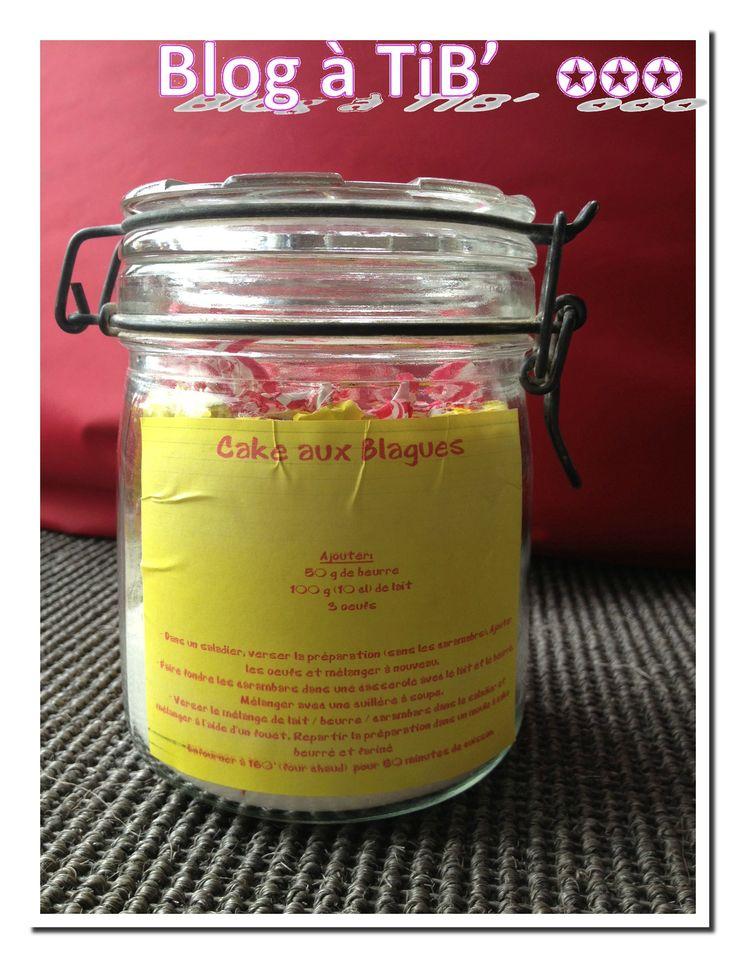 Kits cadeaux gourmands : le cake aux blagues