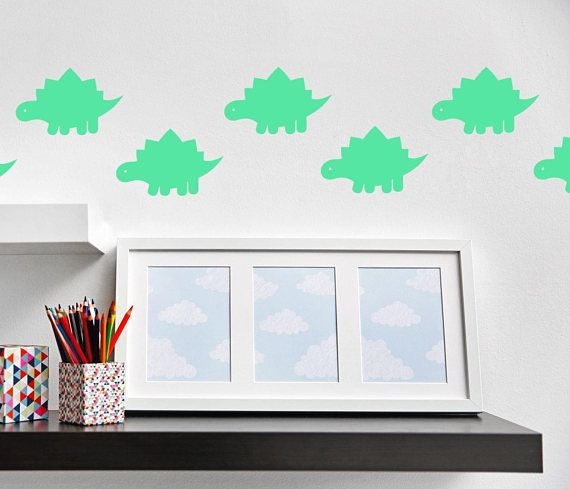 Dinosaur Wall Decal Stickers Stegosaurus Wall Decal Part 75