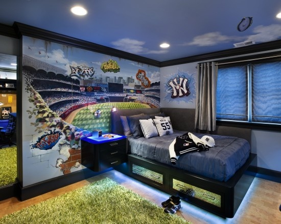 Boys Room! our child will be a football fan ofcourse. :D