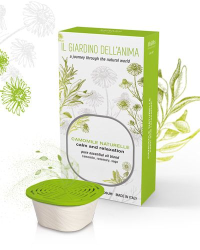 Camomile for calm & relaxation