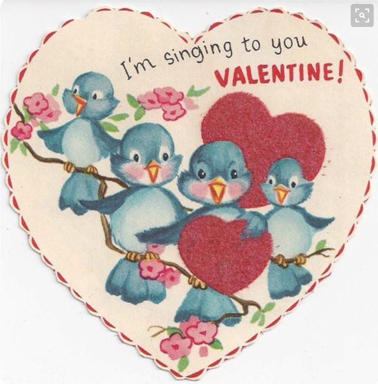 Vintage Bluebird Valentine