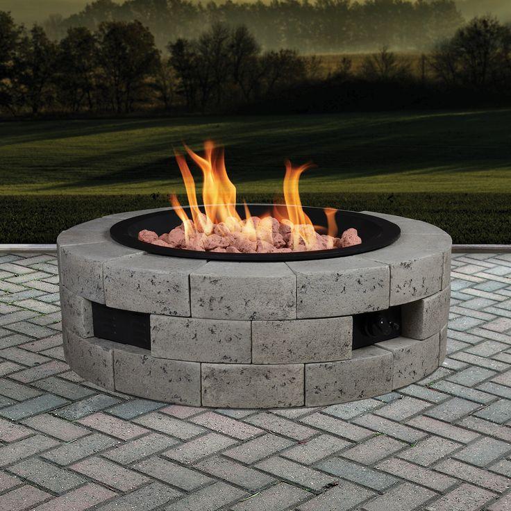 Best 25+ Cinder block fire pit ideas on Pinterest ...