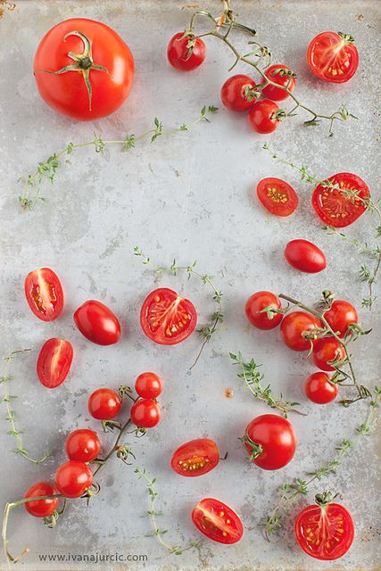 Tomato and thyme   Photographer: Ivana Jurčić www.ivanajurcic.com
