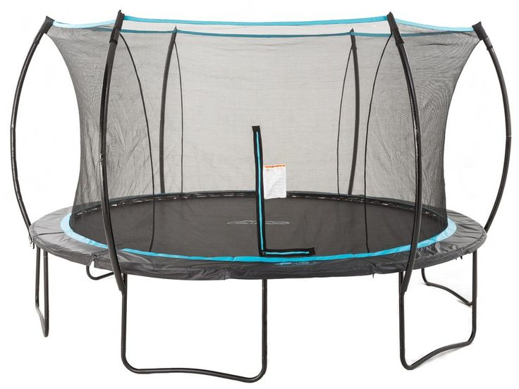 SKYBOUND CIRRUS 14FT TRAMPOLINE WITH FULL SAFETY ENCLOSURE SYSTEM (SB-T14CIR01) The SkyBound Cirrus 14 ft trampoline will inspire your kids to dream and use the