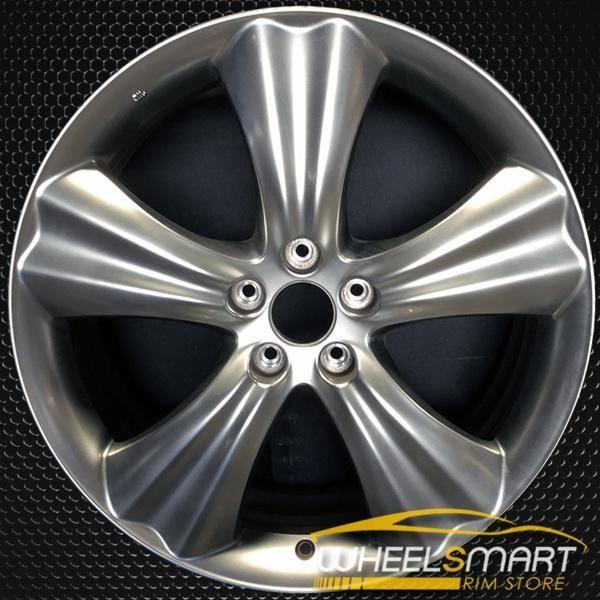 20 Infiniti Fx Oem Wheel 2010 2011 Silver Alloy Stock Rim 73714