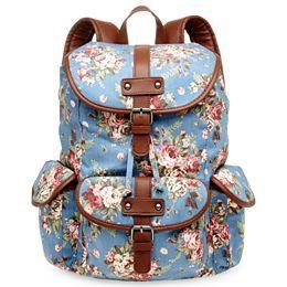 Cute canvas backpack!!