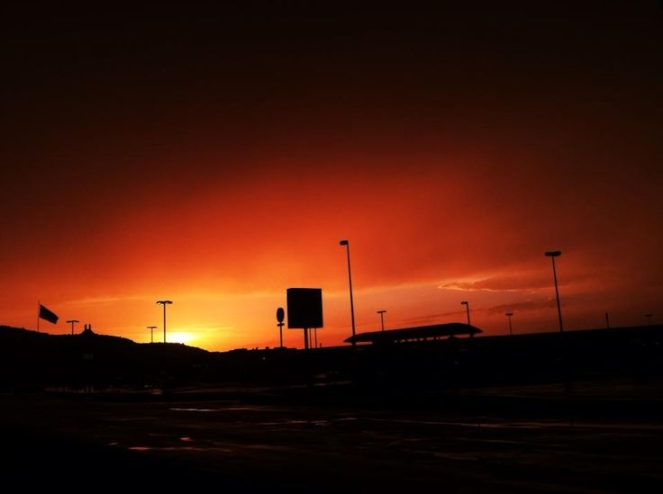 Sunset after the storm