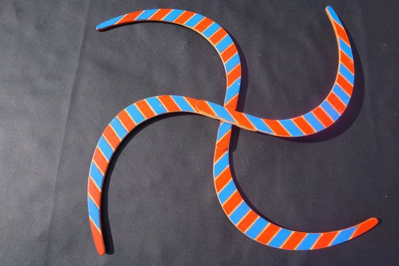 Buugeng S Staff ; juggling; Double Striped Edition; 2  colors ; Carved out  Stripes model (Red& Blue)! Bonus: Free Bag!