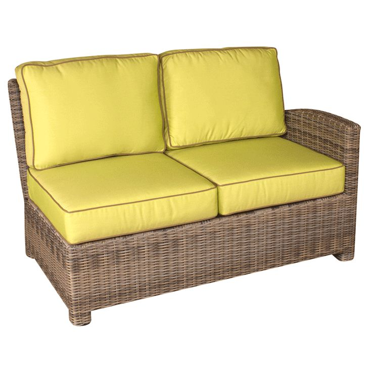 Bainbridge Replacement Cushions For Sectional Right Loveseat