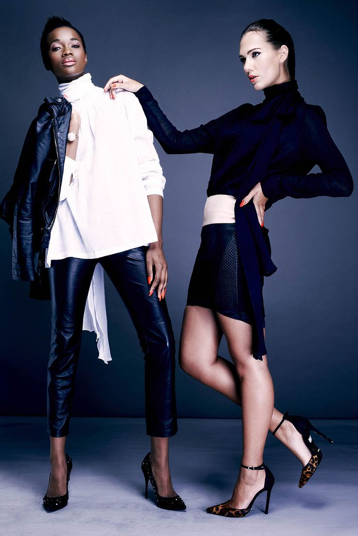 These two stylish looks will dazzle at any event. (Look 5 & 6)