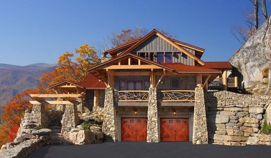 17 best images about stone and stucco on pinterest for Garage door visualizer
