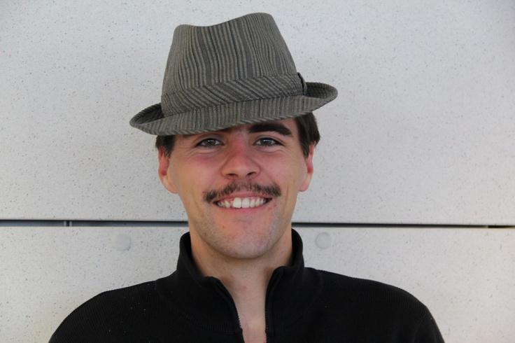 Loïc grew a head mushroom AND a mo. Well done, that man!