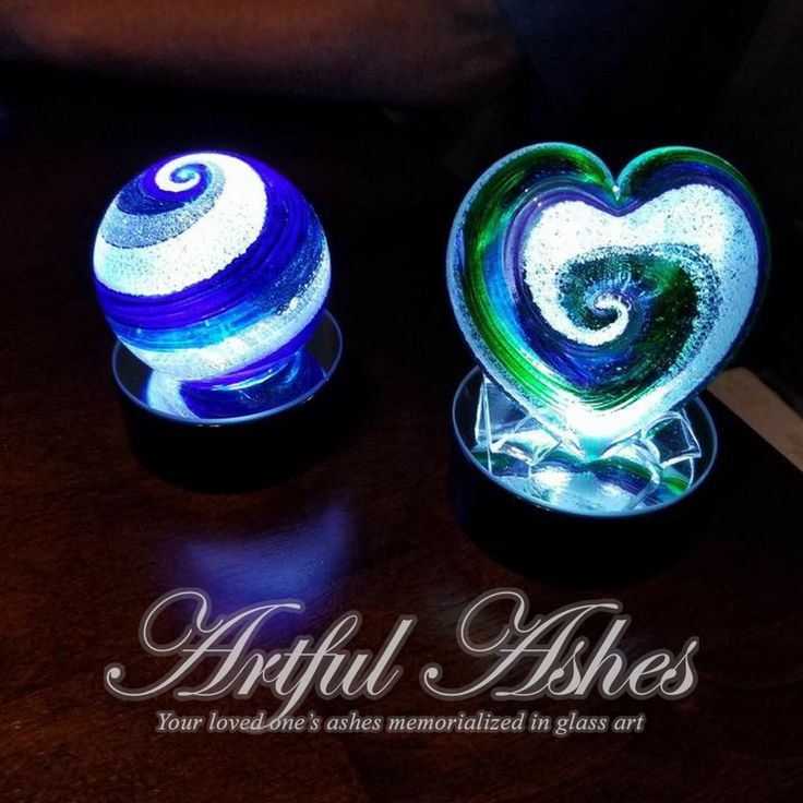 Mom is home. Thank you Artful Ashes. They are beautiful.  Michelle   Artful Ashes... Your loved ones ashes memorialized within glass art...  Greg and Christina  206-409-0337 www.artfulashes.com