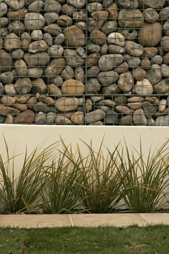 17 best images about gabion cages on pinterest gardens Gabion wall design
