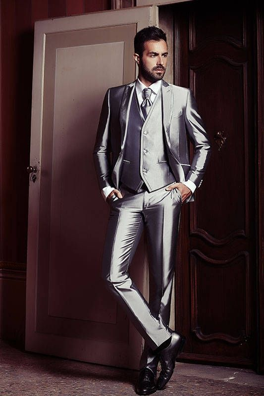 Silk  Satin  Suits  Photo  Male Styles  Pinterest  Mens fashion suits Suit fashion and Suits