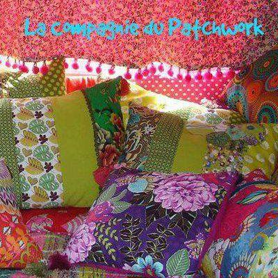Osez les motifs et couleurs en patchwork
